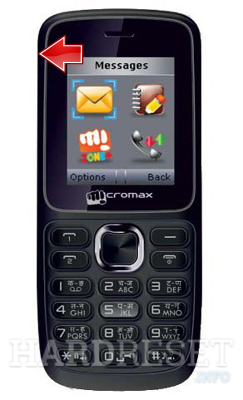 Factory Reset MICROMAX X099
