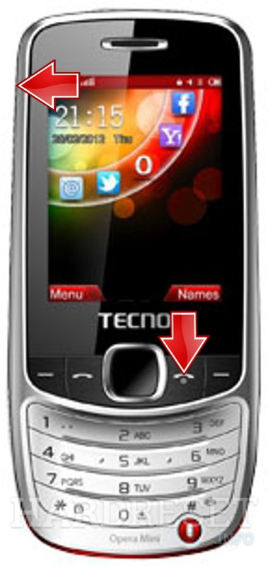 Permanently delete data from TECNO T608