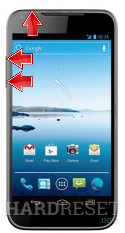 HardReset ZTE Grand Era U895