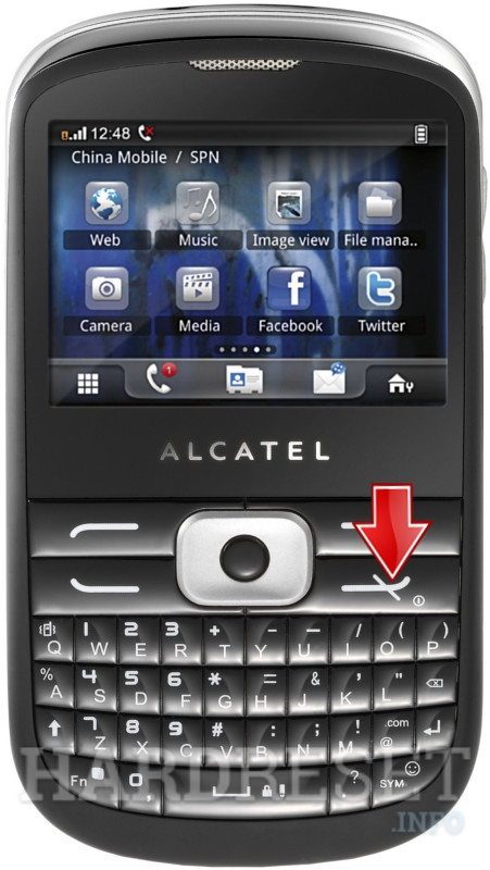 Hard Reset ALCATEL OT-819