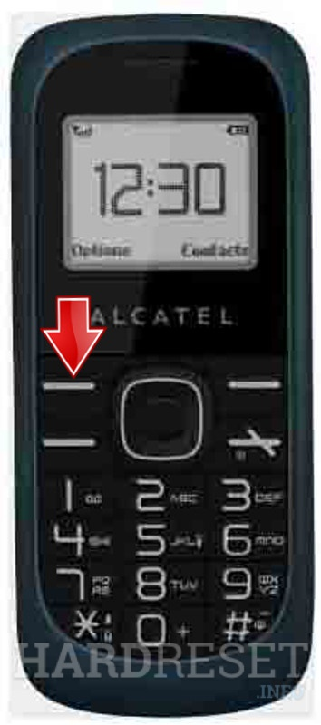 Factory Reset ALCATEL OT-112