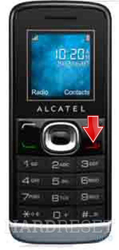 Hard Reset ALCATEL OT-233