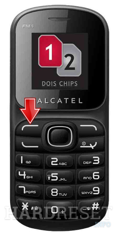 Factory Reset ALCATEL OT-217D
