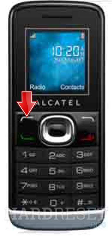 Factory Reset ALCATEL OT-233