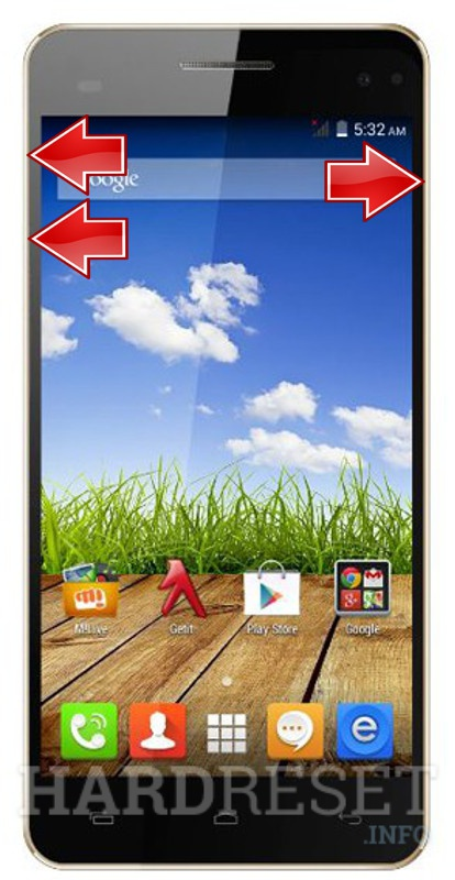 Master Reset MICROMAX A190 Canvas HD Plus