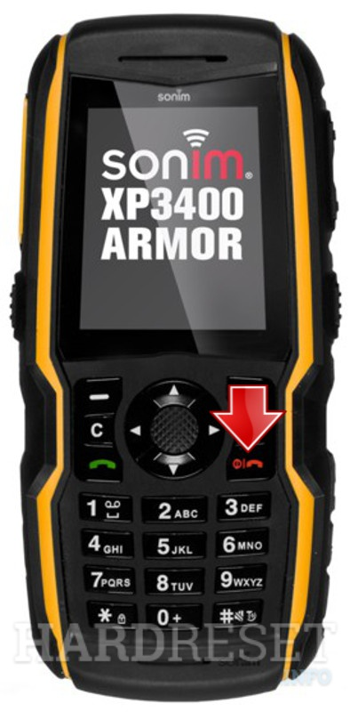 Hard Reset SONIM XP3400 Armor