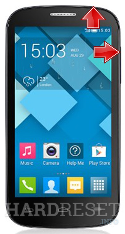 HardReset ALCATEL 5036A 5037A One Touch POP C5