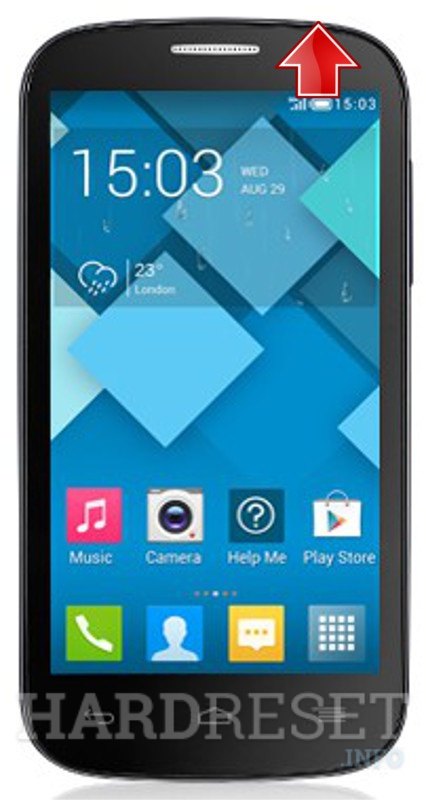 Hard Reset ALCATEL 5036A 5037A One Touch POP C5