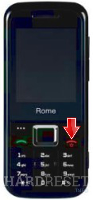 Hard Reset ZTE Orange Rome