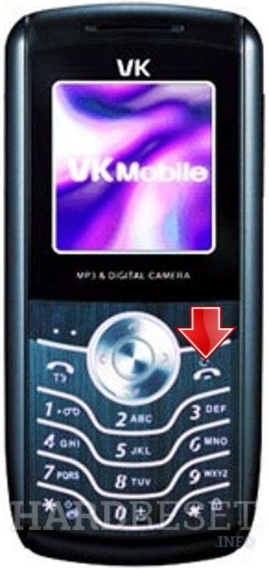 Hard Reset VK Mobile VK200