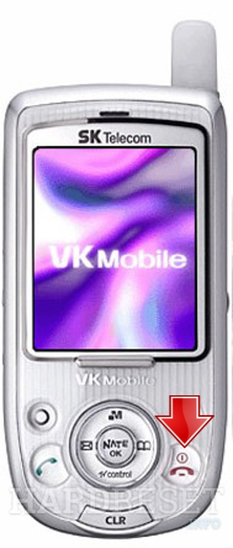 Hard Reset VK Mobile VK300C
