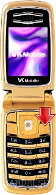 Hard Reset VK Mobile VK300 Gold