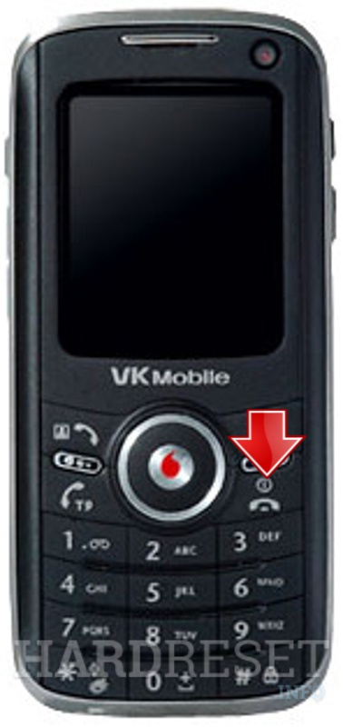 Hard Reset VK Mobile VK7000