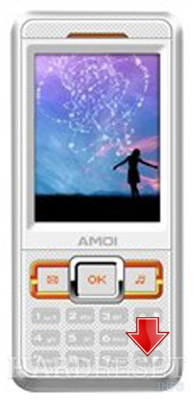 Remove screen password on AMOI M535