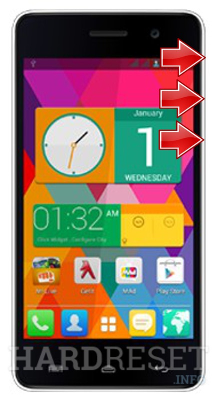 Factory Reset MICROMAX A106 Unite 2