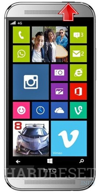 Hard Reset HTC One M8 for Windows