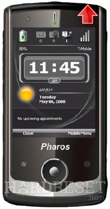 Hard Reset PHAROS Traveler 117 GPS