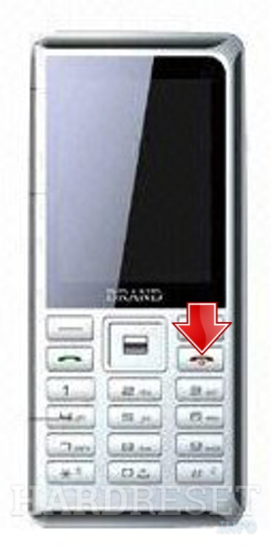 Remove screen password on HEDY M260A