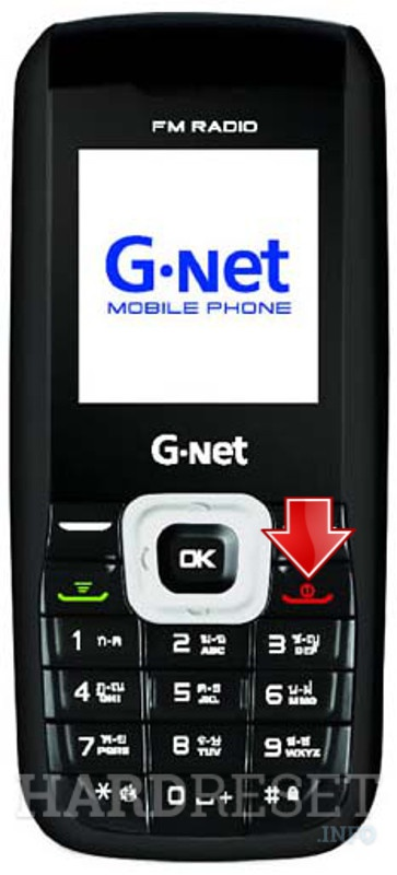 Remove screen password on GNET G414i