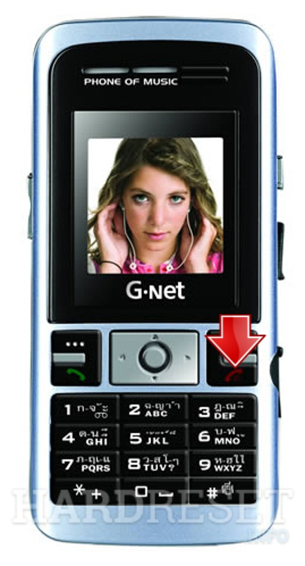 Hard Reset GNET G409 mini