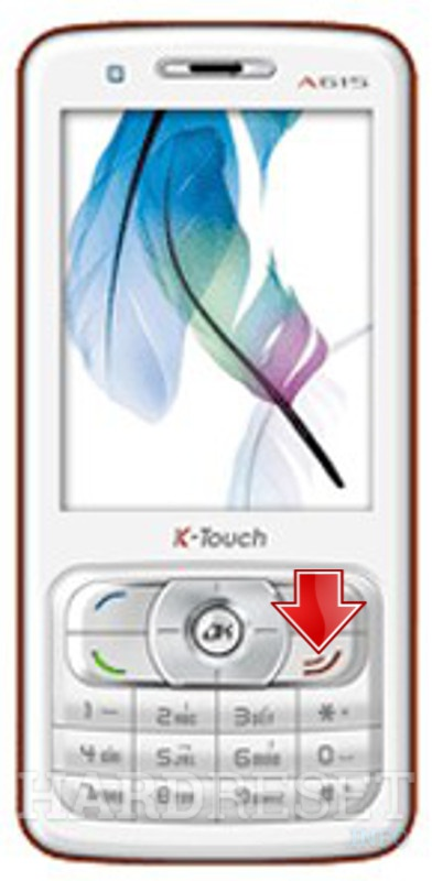 Hard Reset K-TOUCH A615