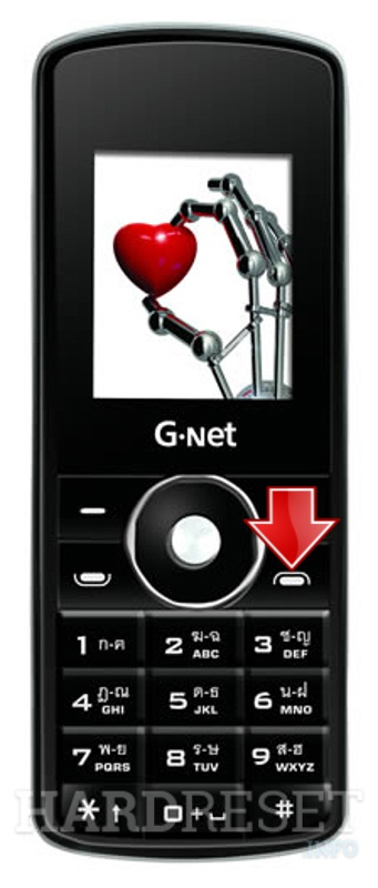 Remove Screen Lock on GNET G999 Nano