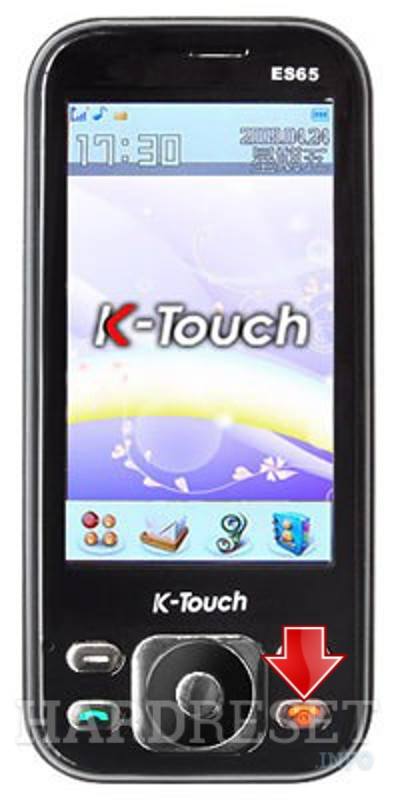 Hard Reset K-TOUCH ES65