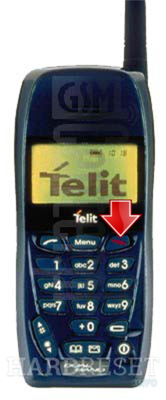 Hard Reset TELIT GM810