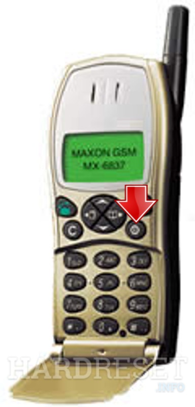 Hard Reset MAXON MX-6831