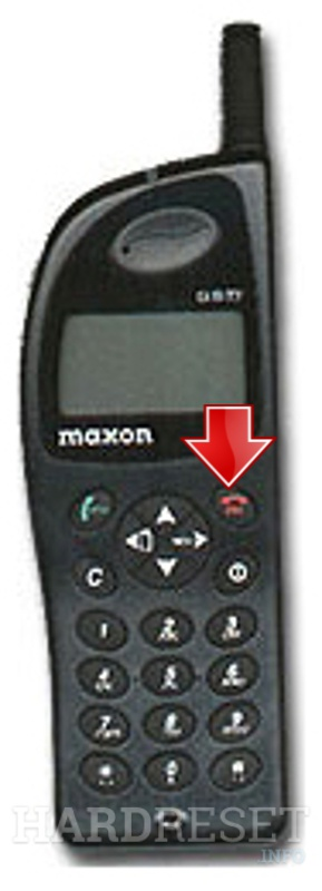 Hard Reset MAXON MX-3204