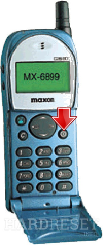 Hard Reset MAXON MX-6899