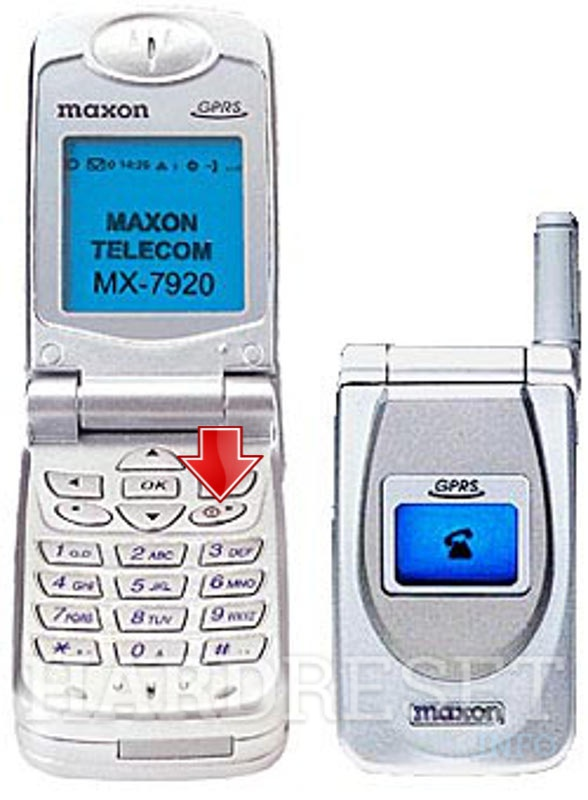 Hard Reset MAXON MX-7920