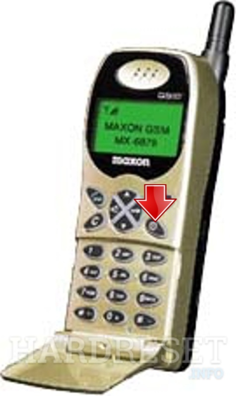Hard Reset MAXON MX-6879