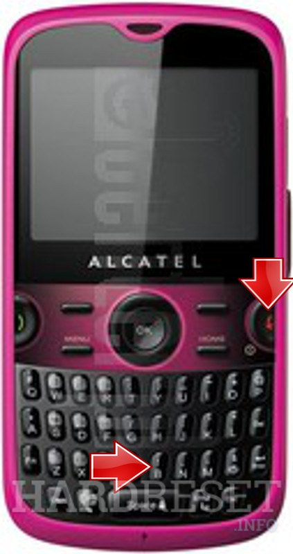 Permanently delete data from ALCATEL 5185