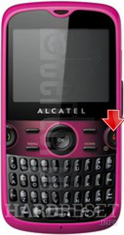 Hard Reset ALCATEL 5185