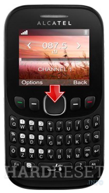 how to hard reset my phone alcatel 3003g tribe hardreset info rh hardreset info