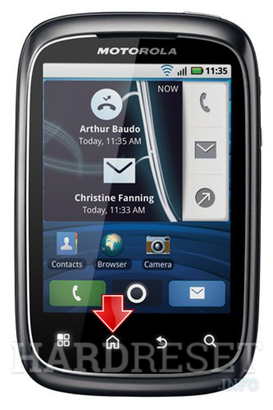 Wipe data MOTOROLA XT300 Spice