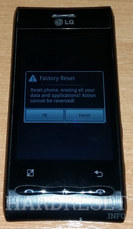 Hard Reset LG GT540 Swift - HardReset info