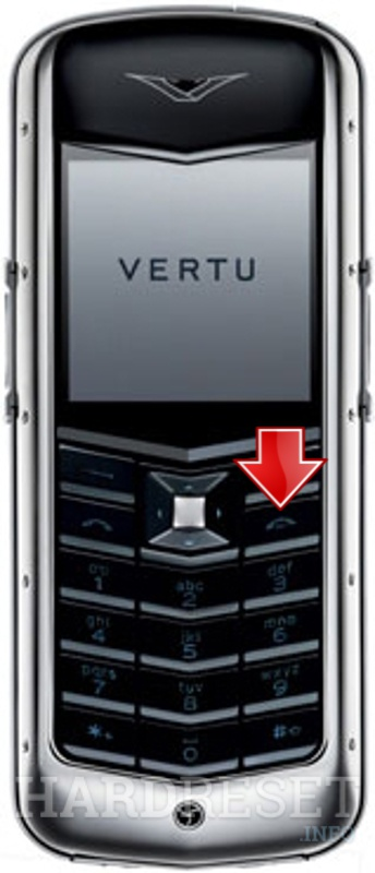 Hard Reset VERTU Constellation