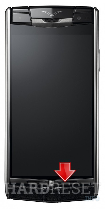 Hard Reset VERTU Signature Touch