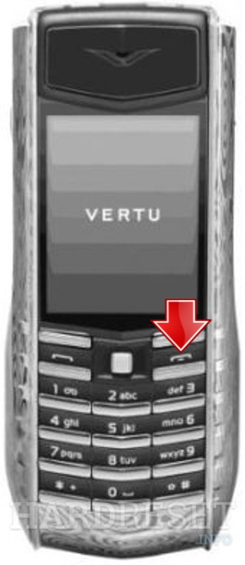 Hard Reset VERTU Damascus Steel