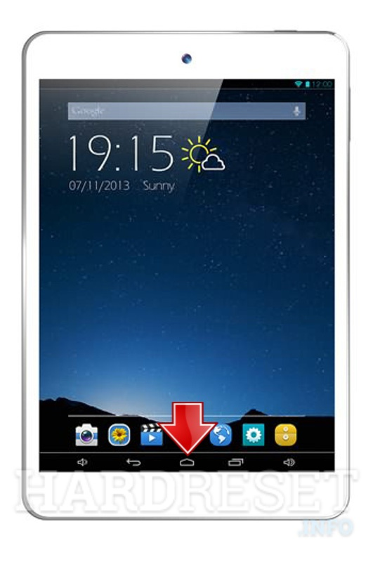 Factory Reset XTOUCH F81
