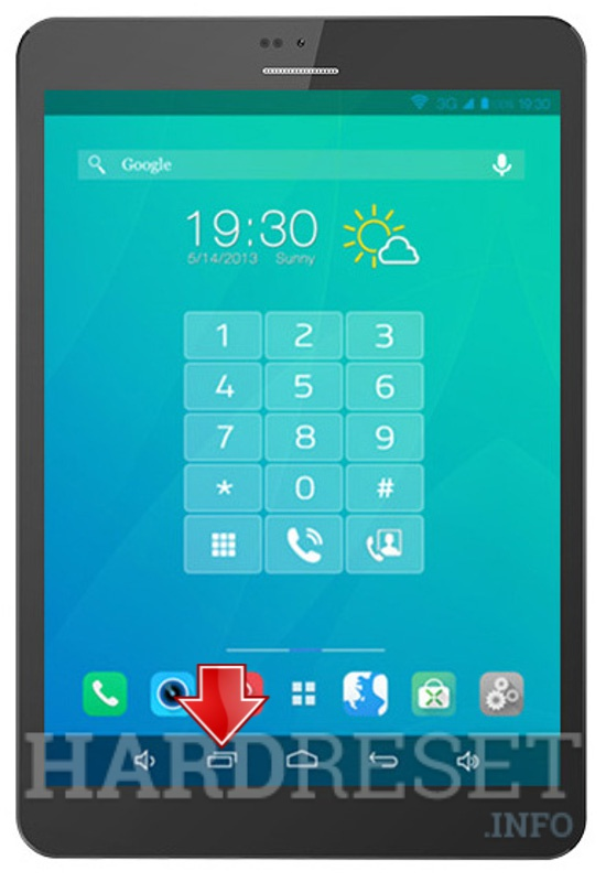 Master Reset XTOUCH PF83 PhoneTab