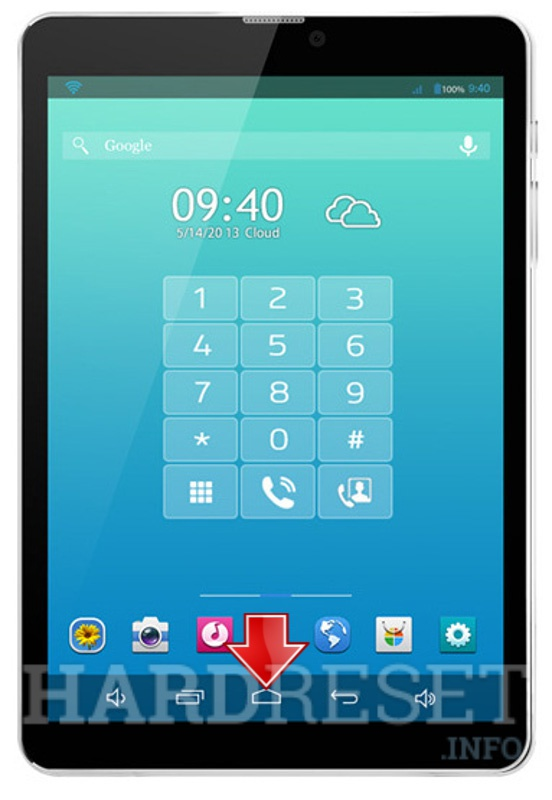 Factory Reset XTOUCH PF81 PhoneTab