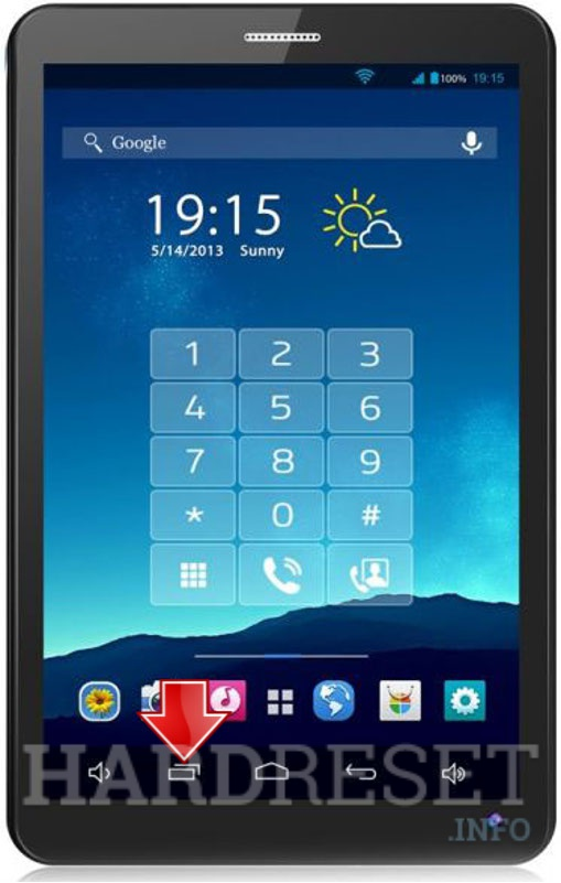 Master Reset XTOUCH PL71 PhoneTab