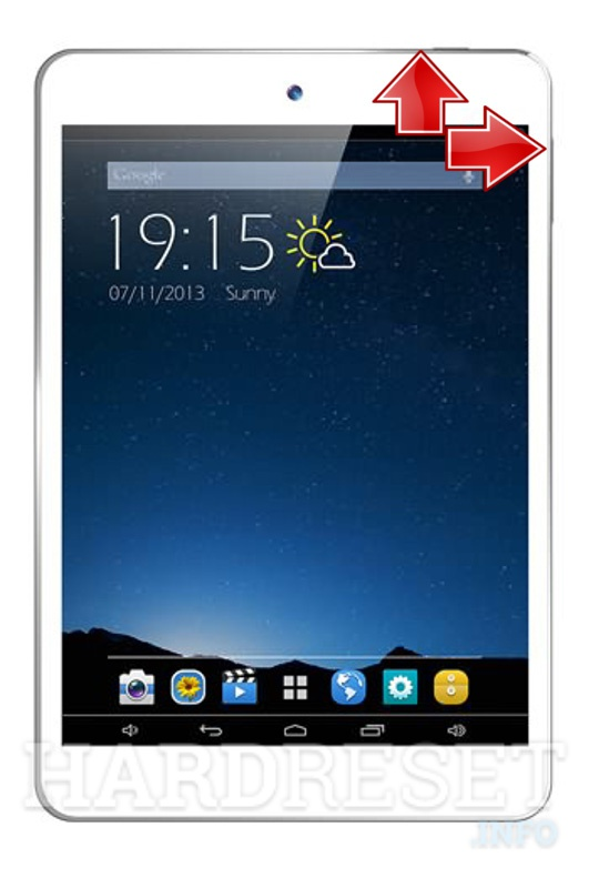 HardReset XTOUCH F81