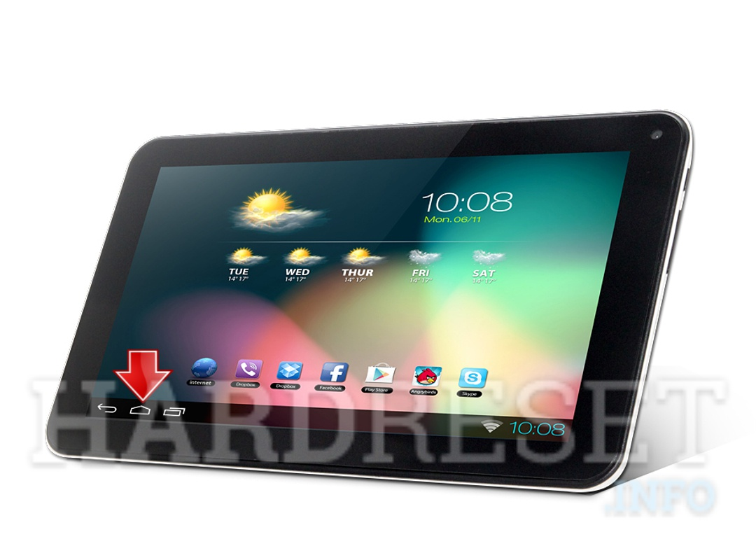 Factory Reset XTOUCH X718