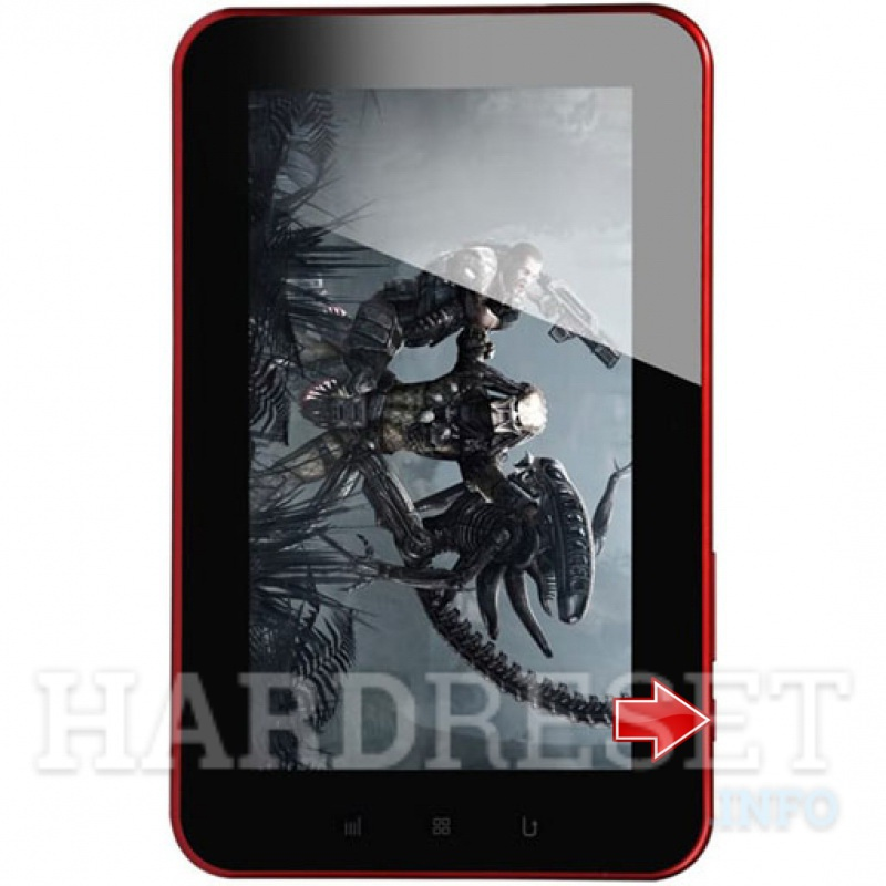 Hard Reset XTOUCH X714