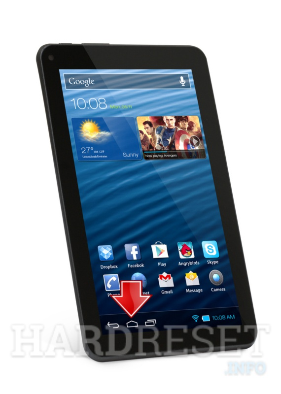 Factory Reset XTOUCH X709