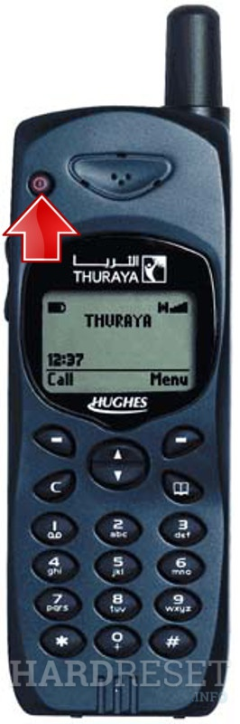Hard Reset THURAYA Satellite
